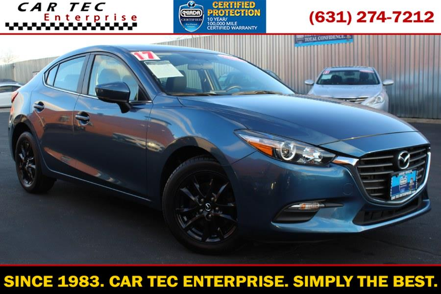 Used 2017 Mazda Mazda3 4-Door in Deer Park, New York | Car Tec Enterprise Leasing & Sales LLC. Deer Park, New York