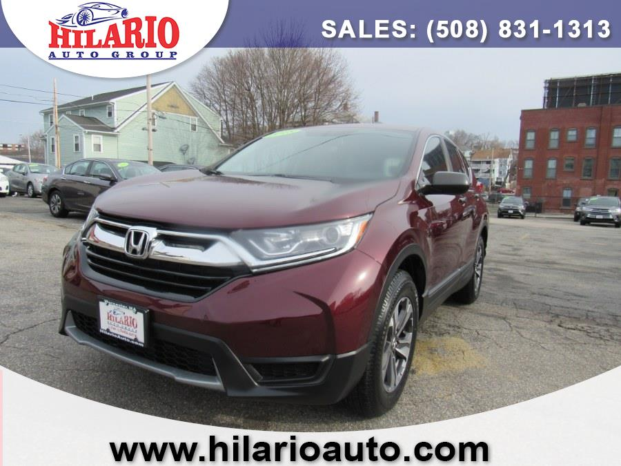 Used 2018 Honda CR-V in Worcester, Massachusetts | Hilario's Auto Sales Inc.. Worcester, Massachusetts