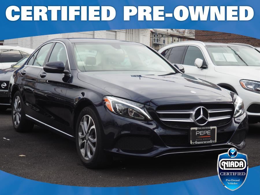 Used 2017 Mercedes-benz C-class in Jackson Heights, New York | Connection Auto Sales Inc.. Jackson Heights, New York