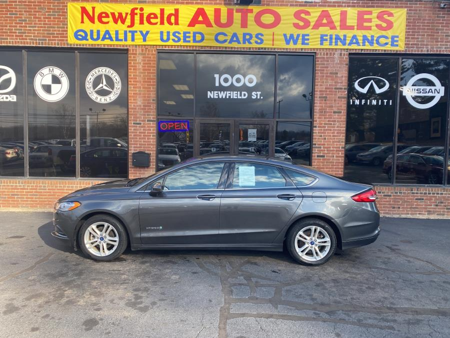 Used Ford Fusion Hybrid SE FWD 2018 | Newfield Auto Sales. Middletown, Connecticut