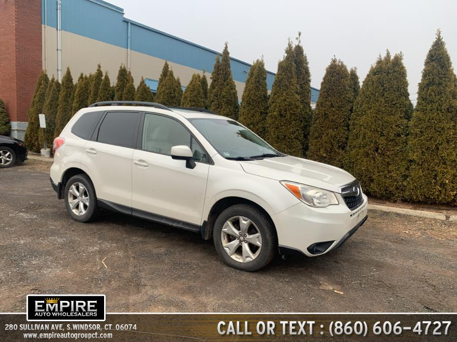 Used 2014 Subaru Forester in S.Windsor, Connecticut | Empire Auto Wholesalers. S.Windsor, Connecticut