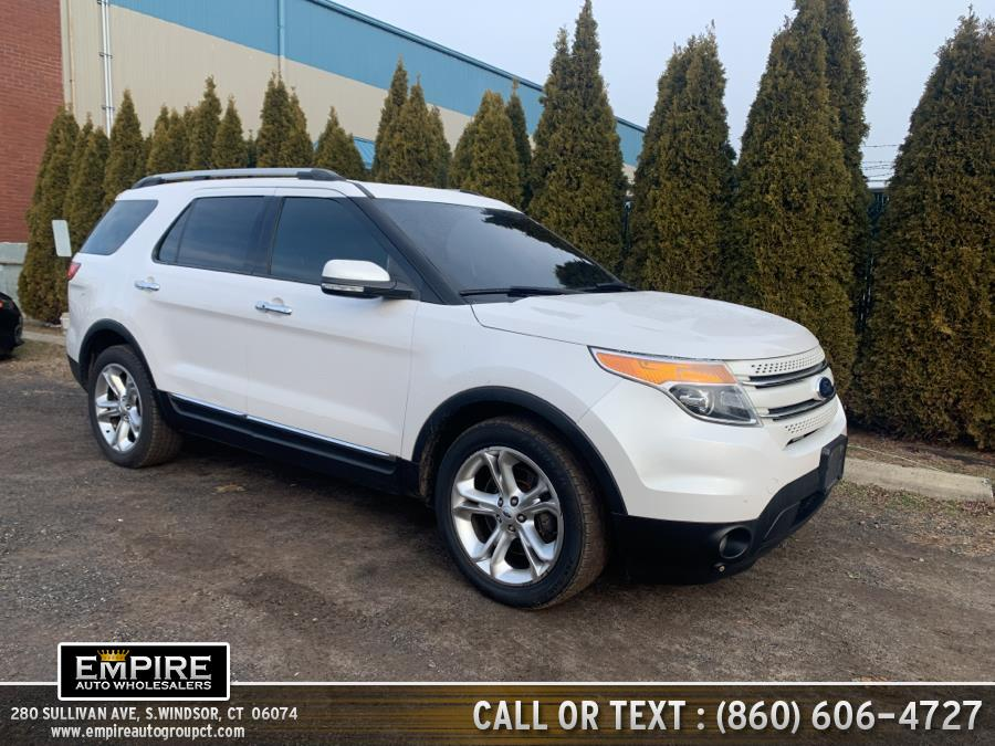 Used Ford Explorer 4WD 4dr Limited 2015 | Empire Auto Wholesalers. S.Windsor, Connecticut