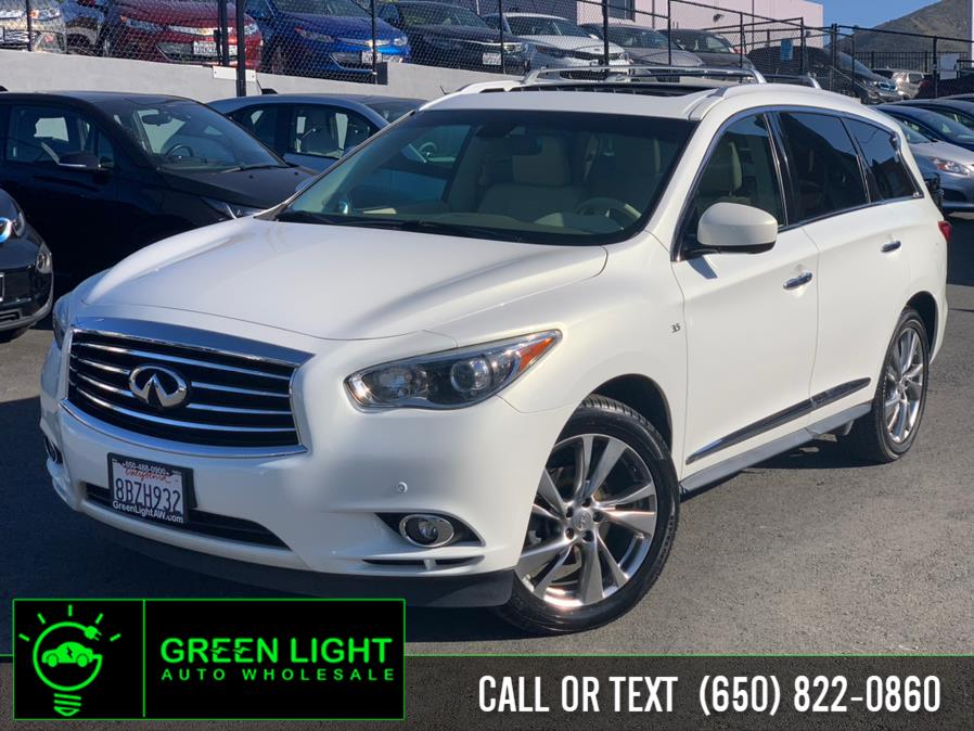 Used 2014 INFINITI QX60 in Daly City, California | Green Light Auto Wholesale. Daly City, California