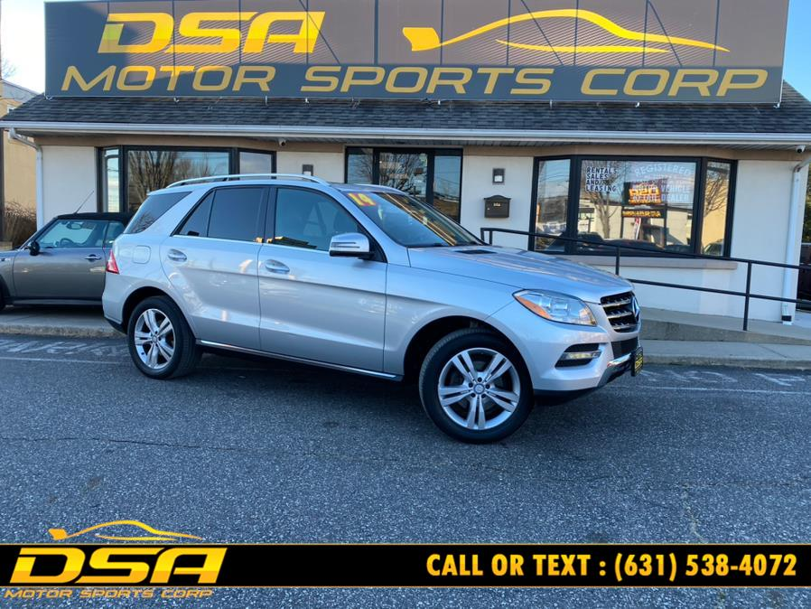 Used Mercedes-Benz M-Class 4MATIC 4dr ML 350 2014 | DSA Motor Sports Corp. Commack, New York