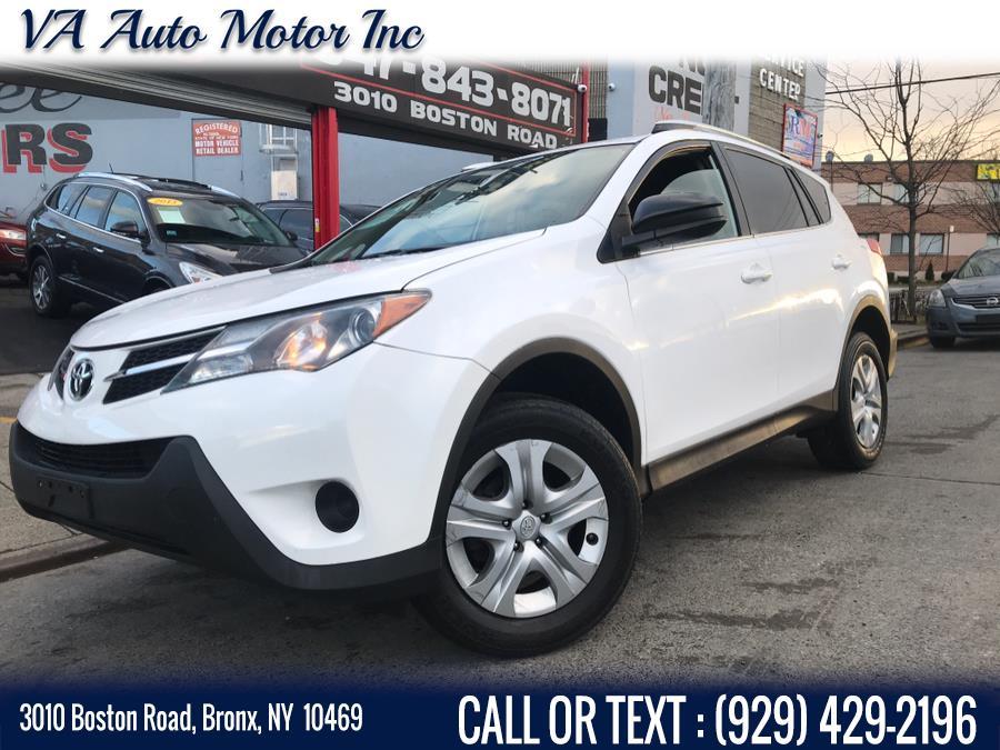 Used Toyota RAV4 AWD 4dr LE (Natl) 2013 | VA Auto Motor Inc. Bronx, New York
