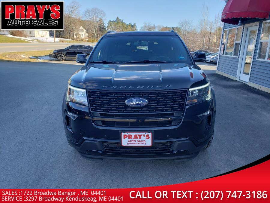Used Ford Explorer Sport 4WD 2019 | Pray's Auto Sales . Bangor , Maine