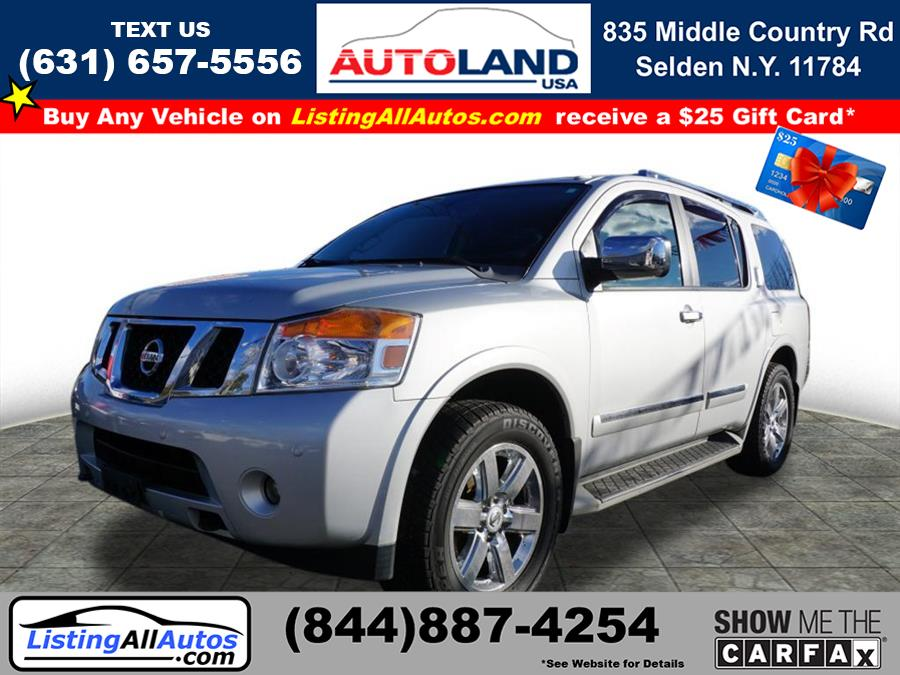 Used 2013 Nissan Armada in Patchogue, New York | www.ListingAllAutos.com. Patchogue, New York