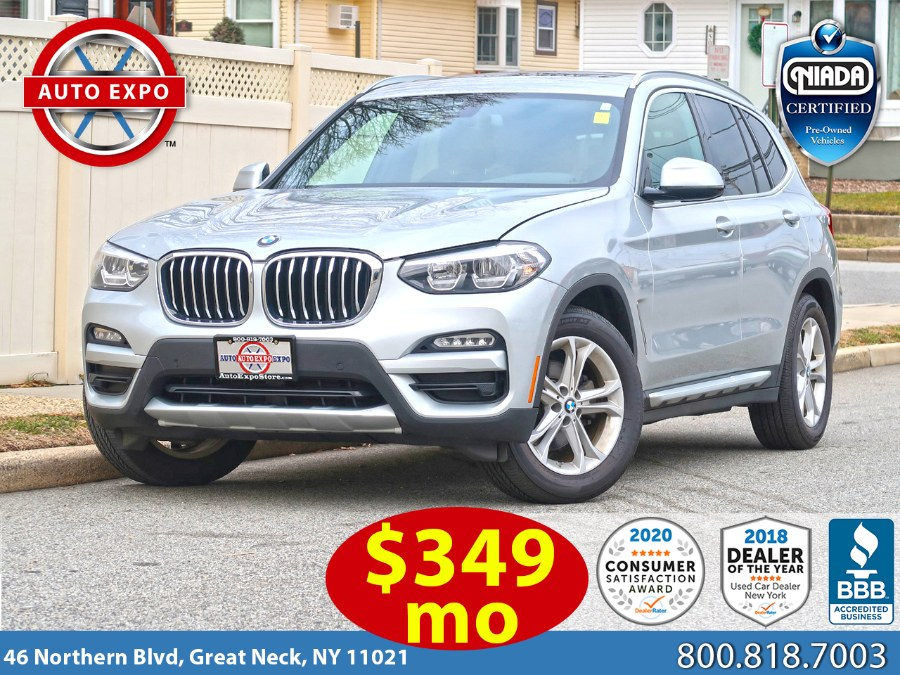 Used 2018 BMW X3 in Great Neck, New York | Auto Expo Ent Inc.. Great Neck, New York