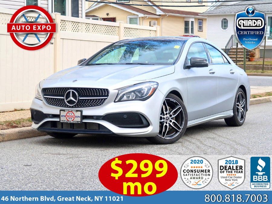 Used Mercedes-benz Cla CLA 250 2018 | Auto Expo Ent Inc.. Great Neck, New York