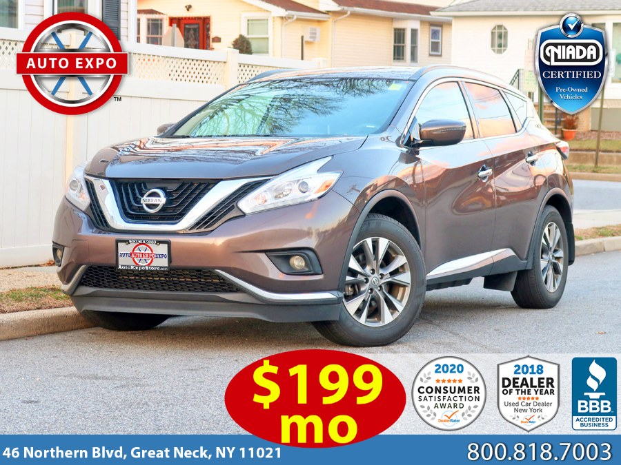 Used 2017 Nissan Murano in Great Neck, New York | Auto Expo Ent Inc.. Great Neck, New York