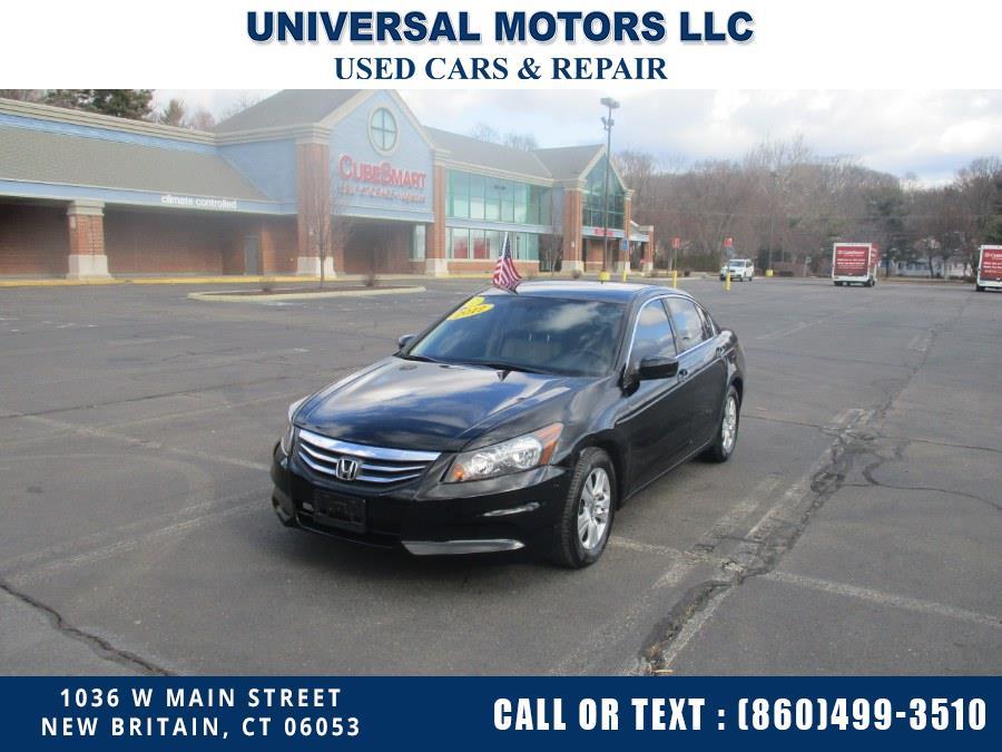 Used 2012 Honda Accord Sdn in New Britain, Connecticut | Universal Motors LLC. New Britain, Connecticut