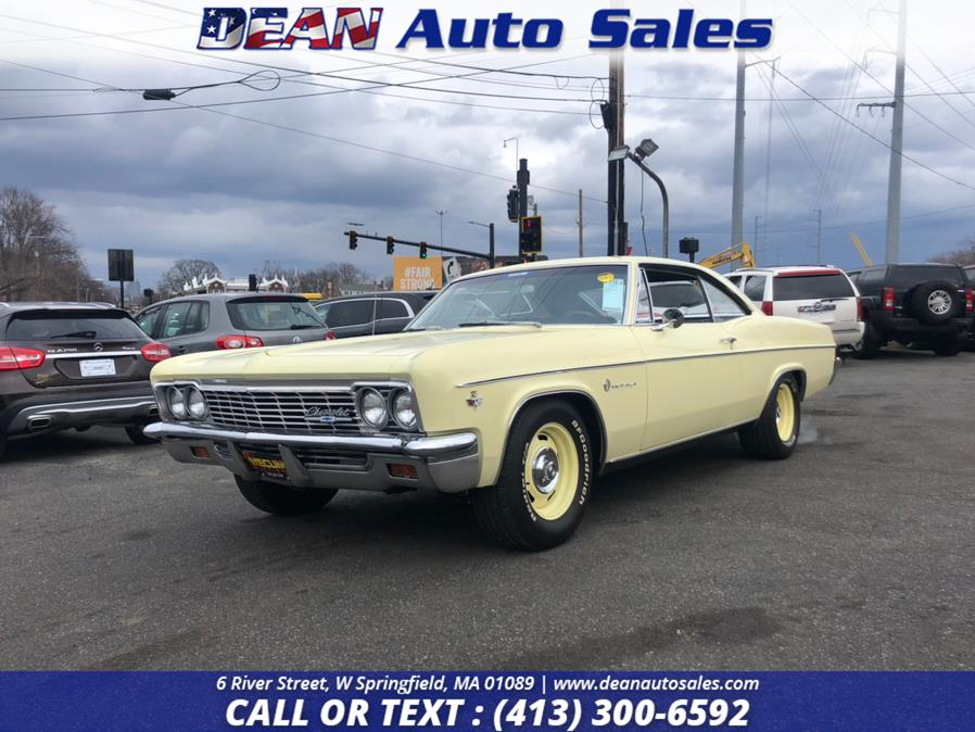 Used Chevrolet Impala 327 CI 4 Speed 1966   Dean Auto Sales. W Springfield, Massachusetts