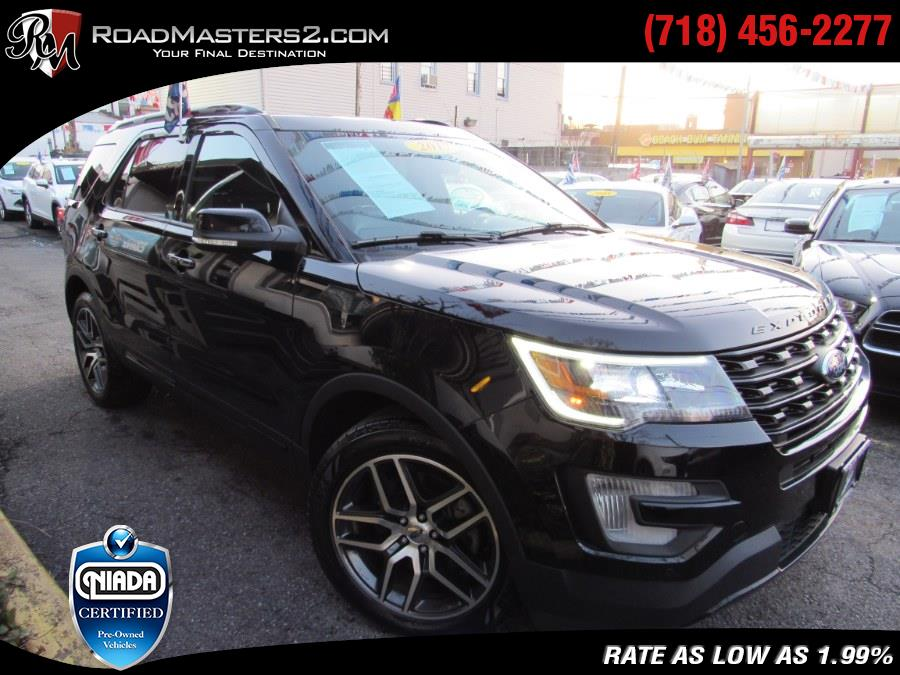 Used Ford Explorer Sport 4WD PANO/NAVI 2017 | Road Masters II INC. Middle Village, New York