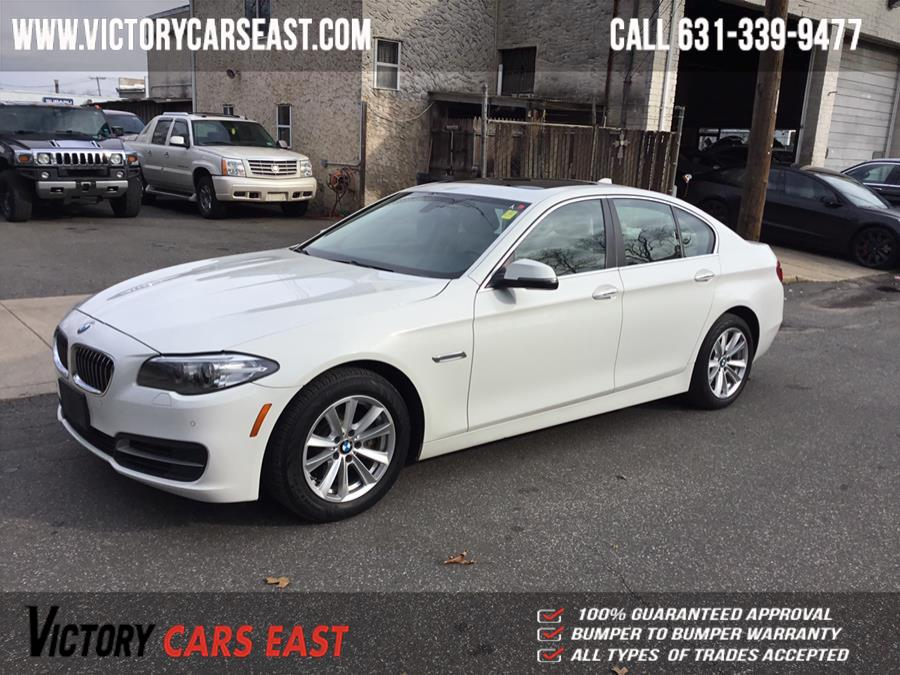 Used BMW 5 Series 4dr Sdn 528i xDrive AWD 2014 | Victory Cars East LLC. Huntington, New York
