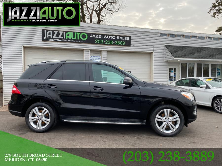 Used Mercedes-Benz M-Class 4MATIC 4dr ML350 2013 | Jazzi Auto Sales LLC. Meriden, Connecticut