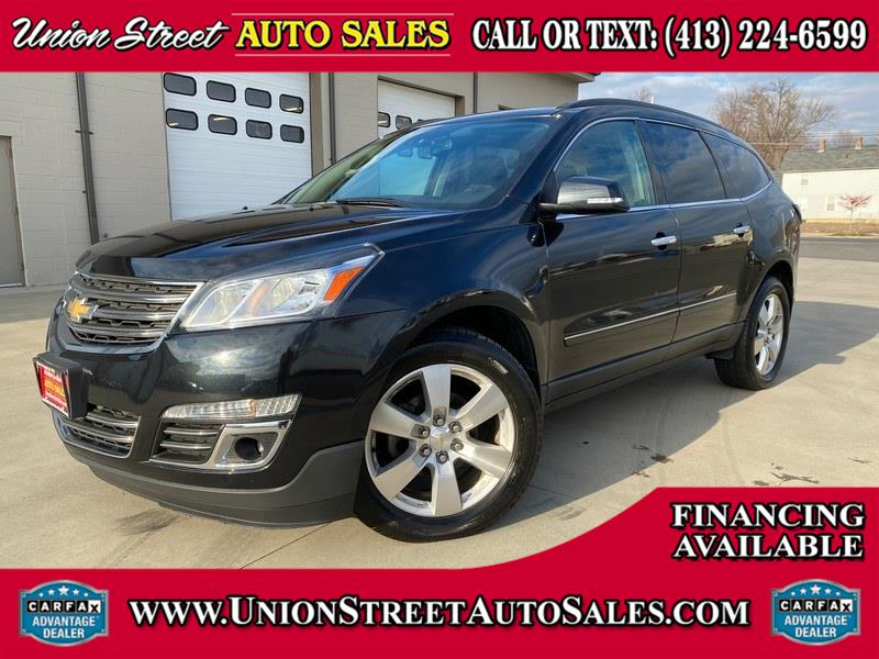 2014 Chevrolet Traverse AWD 4dr LTZ, available for sale in West Springfield, MA