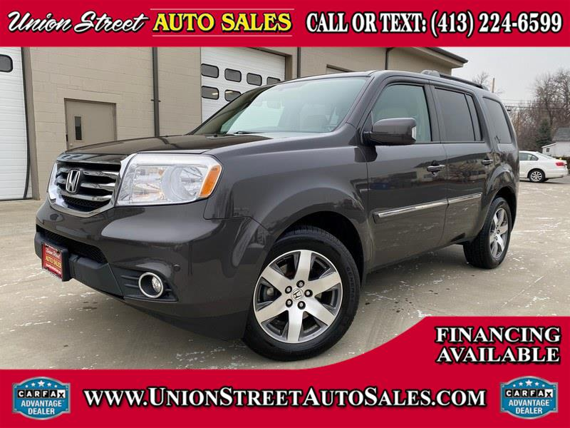 Used Honda Pilot 4WD 4dr Touring w/RES & Navi 2014 | Union Street Auto Sales. West Springfield, Massachusetts