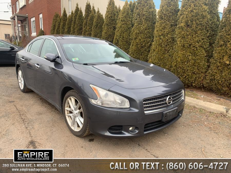 Used Nissan Maxima 4dr Sdn V6 CVT 3.5 SV w/Premium Pkg 2010 | Empire Auto Wholesalers. S.Windsor, Connecticut