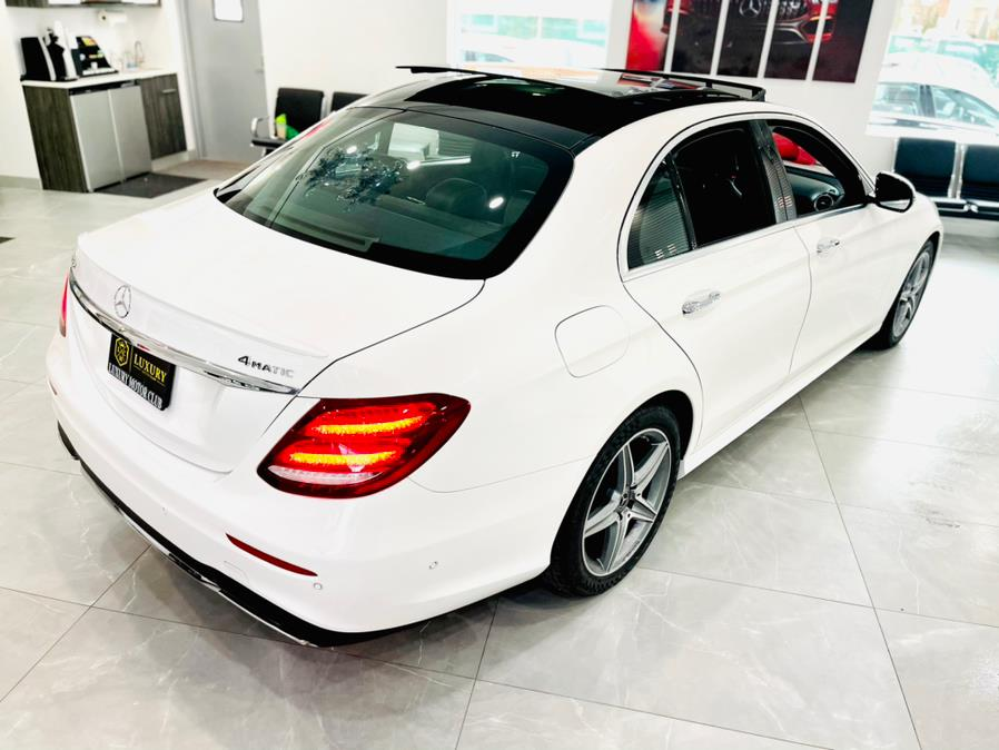 Used Mercedes-Benz E-Class E 300 4MATIC Sedan 2018 | Luxury Motor Club. Franklin Square, New York
