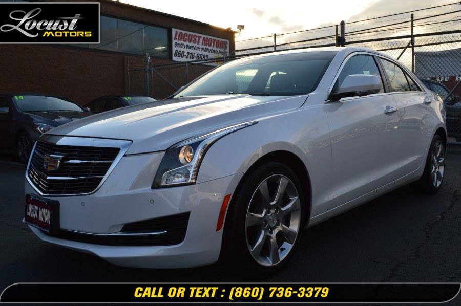 Used 2015 Cadillac ATS Sedan in Hartford, Connecticut | Locust Motors LLC. Hartford, Connecticut