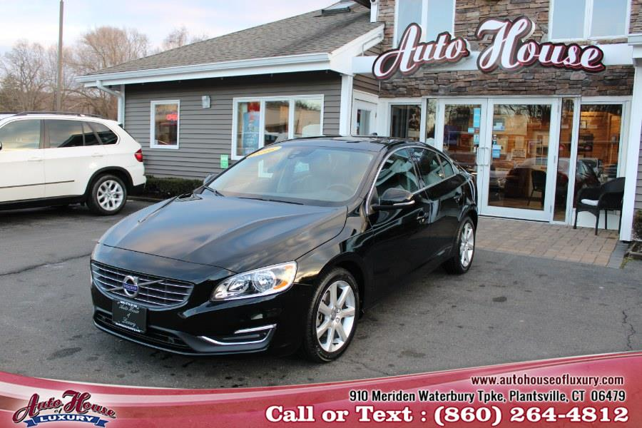 Used Volvo S60 4dr Sdn T5 Drive-E Premier FWD 2016 | Auto House of Luxury. Plantsville, Connecticut
