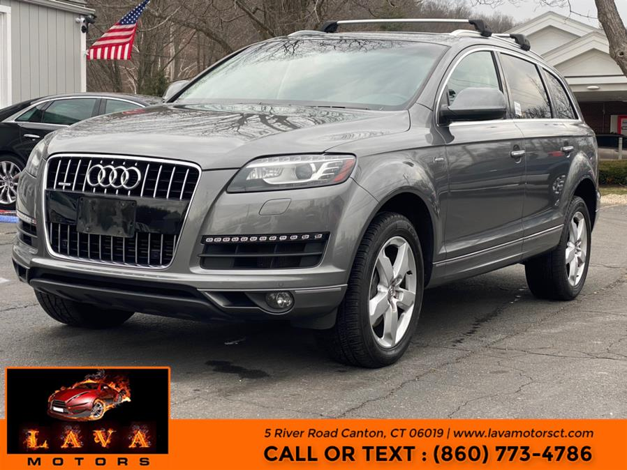Used 2014 Audi Q7 in Canton, Connecticut | Lava Motors. Canton, Connecticut