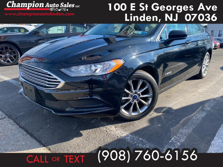 Used 2017 Ford Fusion in Linden, New Jersey | Champion Used Auto Sales. Linden, New Jersey