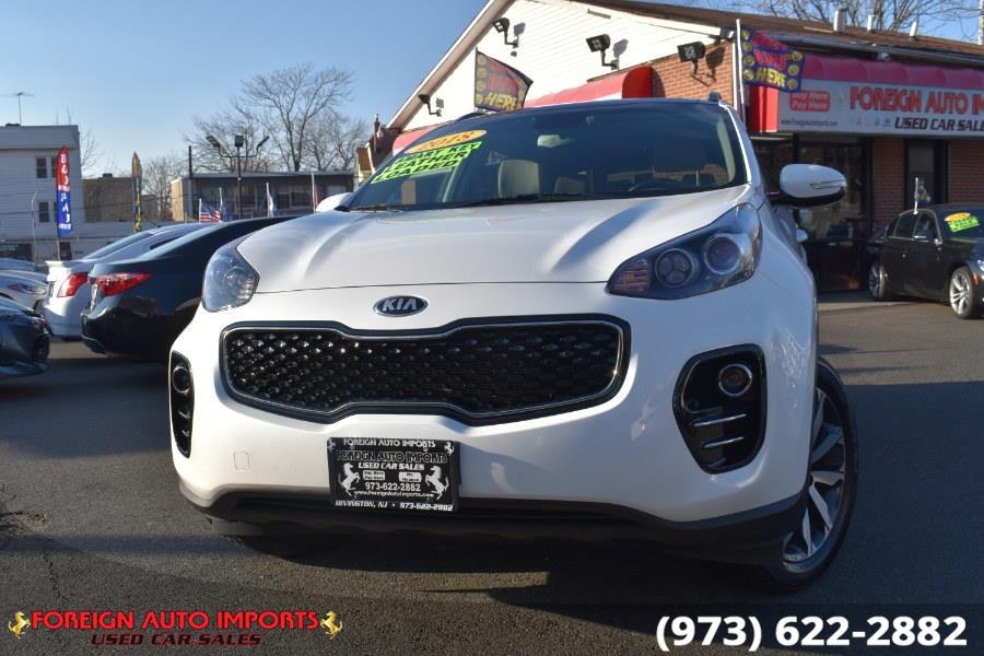Used Kia Sportage Ex premium Awd 2018 | Foreign Auto Imports. Irvington, New Jersey