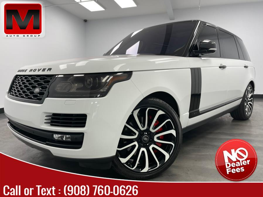 Used 2016 Land Rover Range Rover in Elizabeth, New Jersey | M Auto Group. Elizabeth, New Jersey