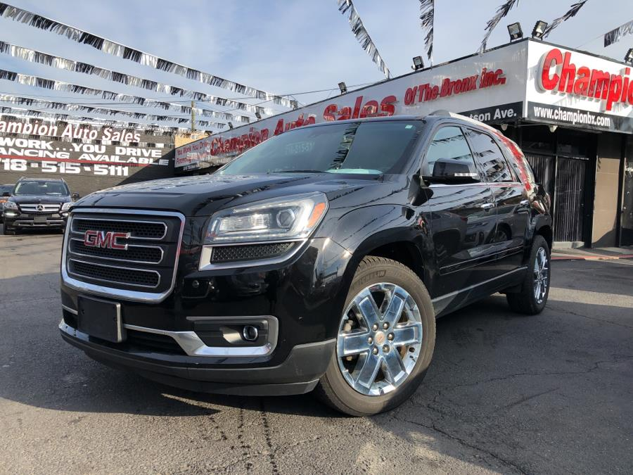 Used 2017 GMC Acadia Limited in Bronx, New York | Champion Auto Sales Of The Bronx. Bronx, New York
