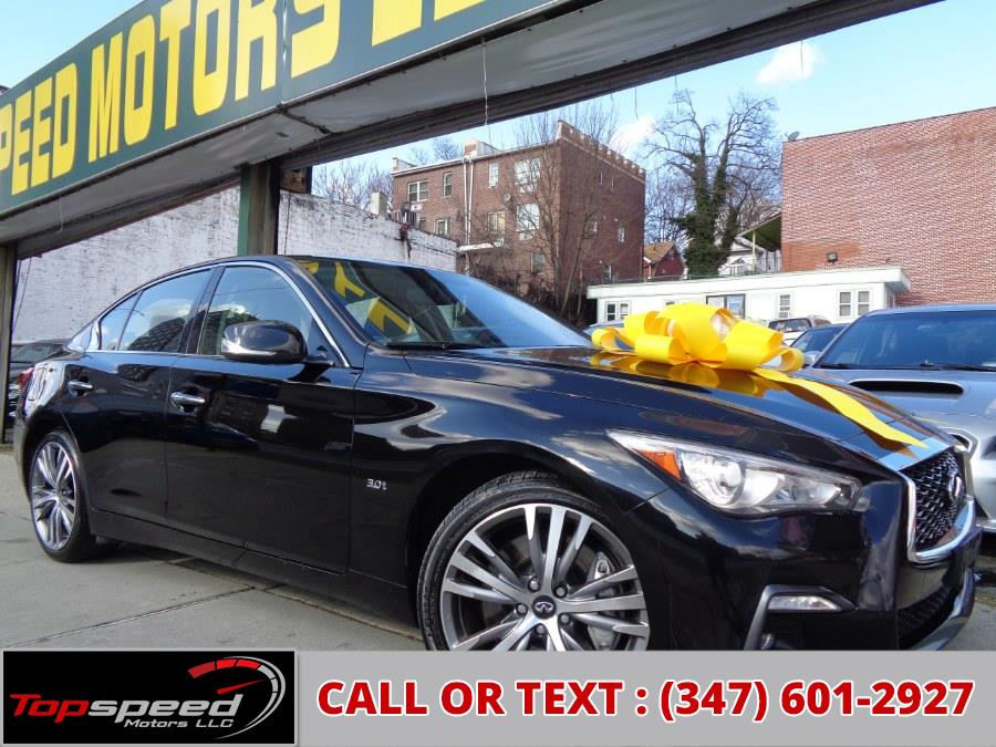 Used INFINITI Q50S 3.0t AWD Sport 2018 | Top Speed Motors LLC. Jamaica, New York