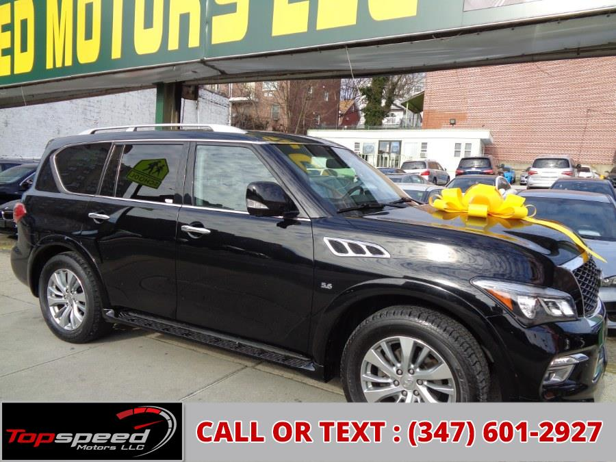 Used 2015 INFINITI QX80 in Jamaica, New York | Top Speed Motors LLC. Jamaica, New York