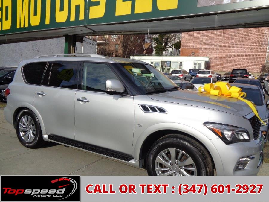 Used INFINITI QX80 4WD 2016 | Top Speed Motors LLC. Jamaica, New York