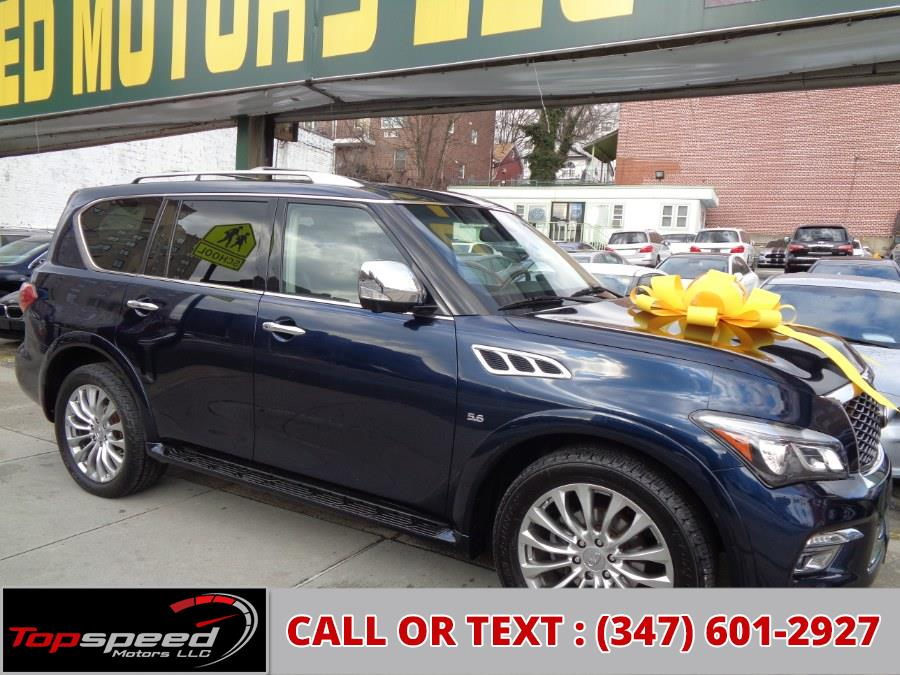 Used 2016 INFINITI QX80 in Jamaica, New York | Top Speed Motors LLC. Jamaica, New York