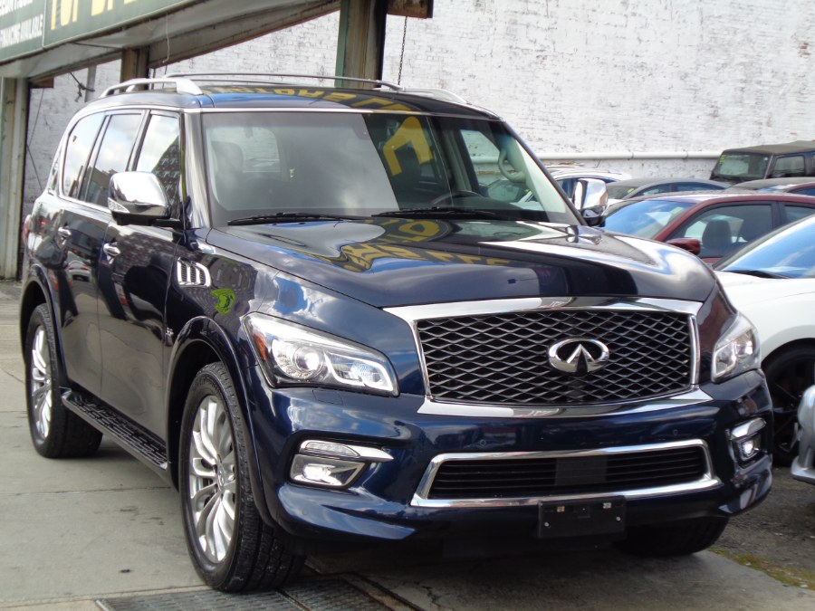Used INFINITI QX80 4WD Technology Package W/Rear Entertainment 2016 | Top Speed Motors LLC. Jamaica, New York