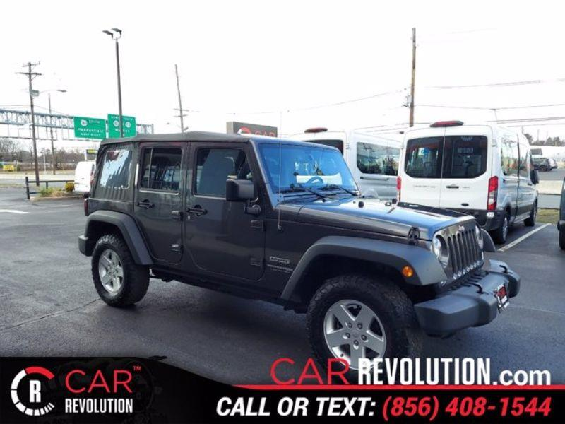 Used 2018 Jeep Wrangler Jk Unlimited in Maple Shade, New Jersey   Car Revolution. Maple Shade, New Jersey