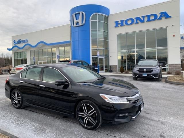 Used Honda Accord Touring 2017 | Sullivan Automotive Group. Avon, Connecticut