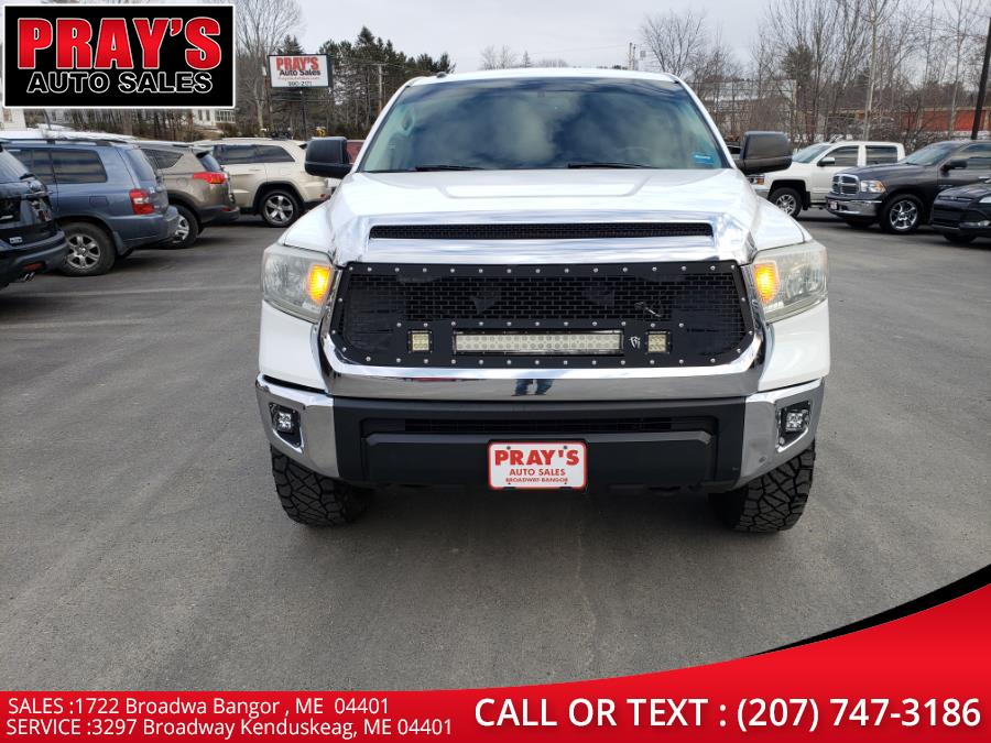 Used Toyota Tundra 4WD Truck CrewMax 5.7L V8 6-Spd AT SR5 (Natl) 2014 | Pray's Auto Sales . Bangor , Maine
