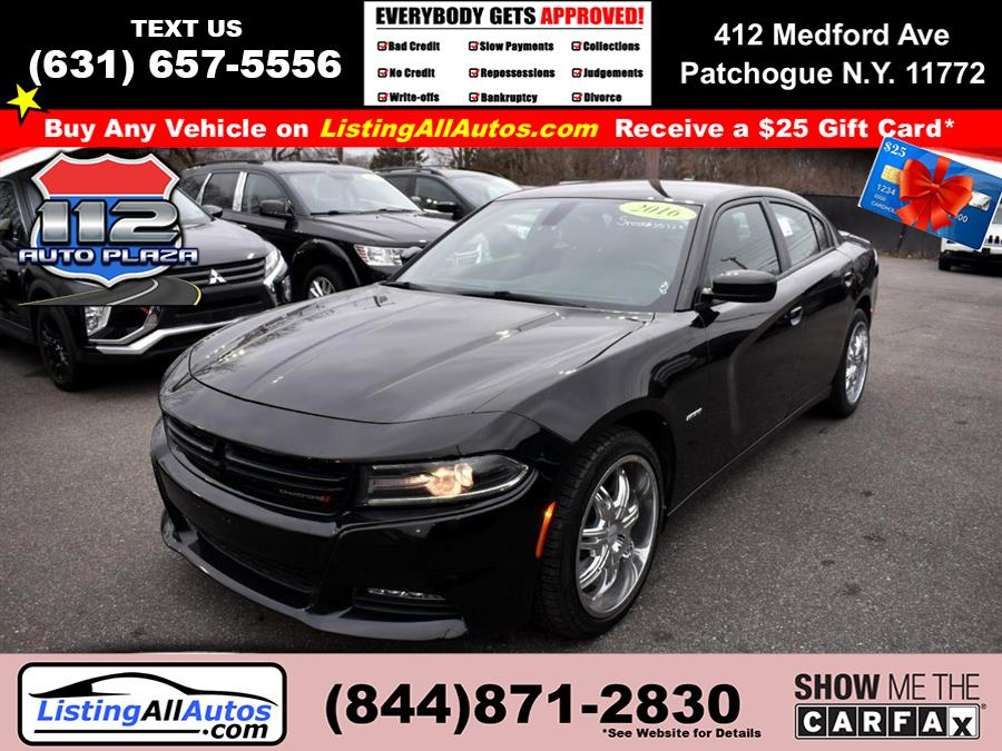 Used Dodge Charger 4dr Sdn R/T RWD 2016 | www.ListingAllAutos.com. Patchogue, New York