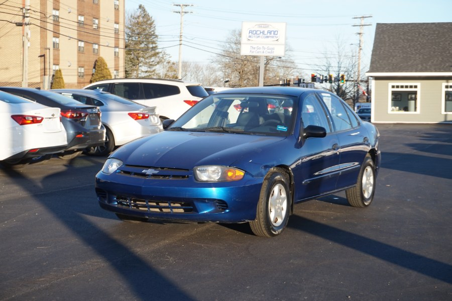 Used Chevrolet Cavalier 4dr Base Sdn 2004 | Rockland Motor Company. Rockland, Maine