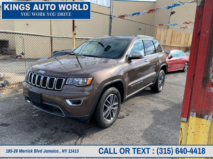 Used Jeep Grand Cherokee Limited 4x4 2017 | Kings Auto World. Jamaica , New York
