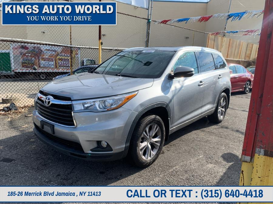 Used Toyota Highlander AWD 4dr V6 XLE (Natl) 2015 | Kings Auto World. Jamaica , New York