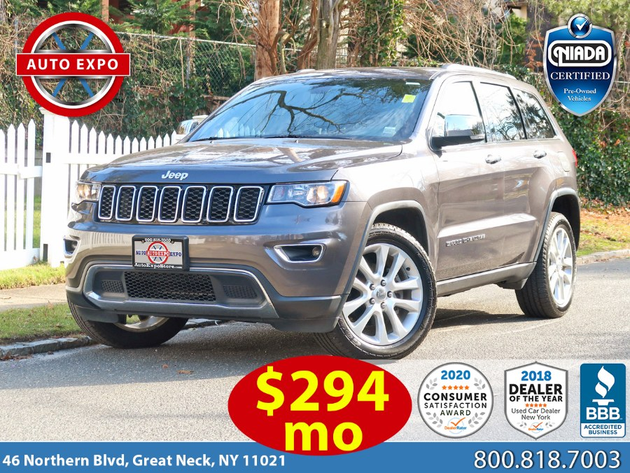 Used 2017 Jeep Grand Cherokee in Great Neck, New York | Auto Expo Ent Inc.. Great Neck, New York