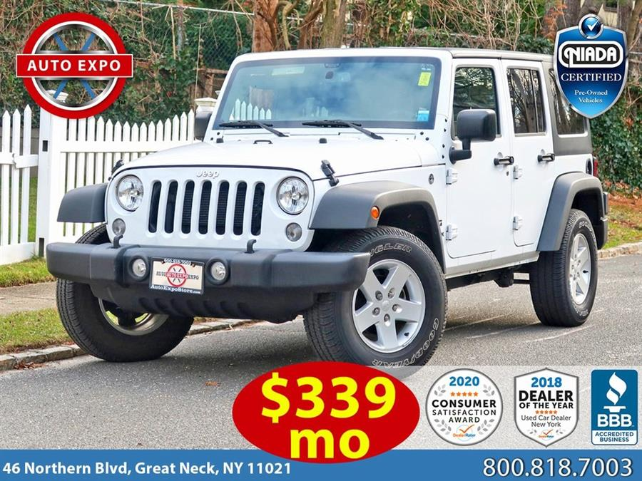 Used 2018 Jeep Wrangler Jk in Great Neck, New York | Auto Expo Ent Inc.. Great Neck, New York