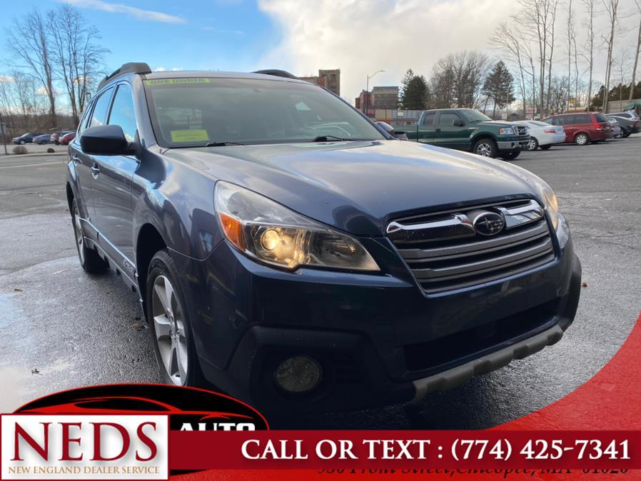 Used Subaru Outback 4dr Wgn H4 Auto 2.5i Limited 2013 | New England Dealer Services. Indian Orchard, Massachusetts