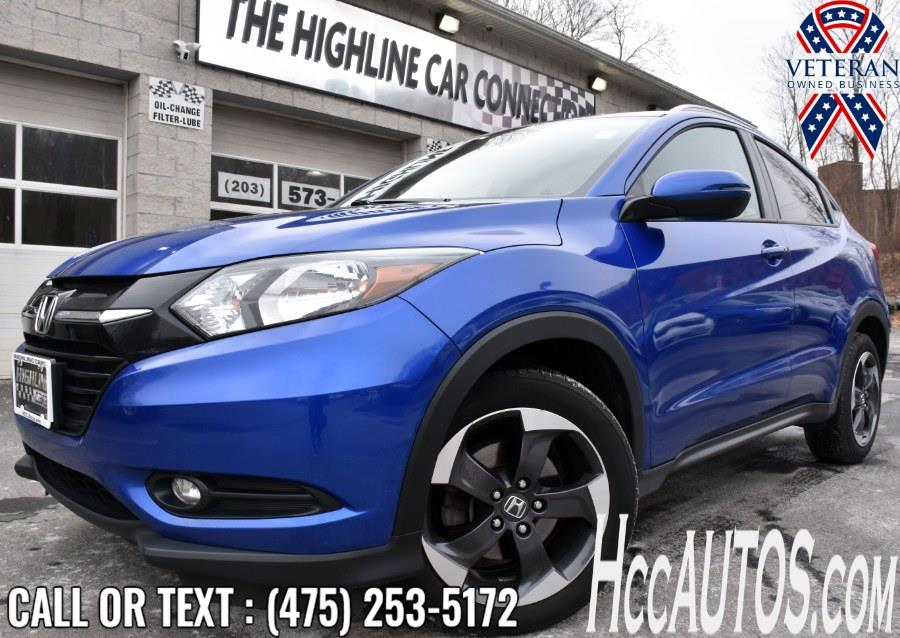 Used 2018 Honda HR-V in Waterbury, Connecticut | Highline Car Connection. Waterbury, Connecticut
