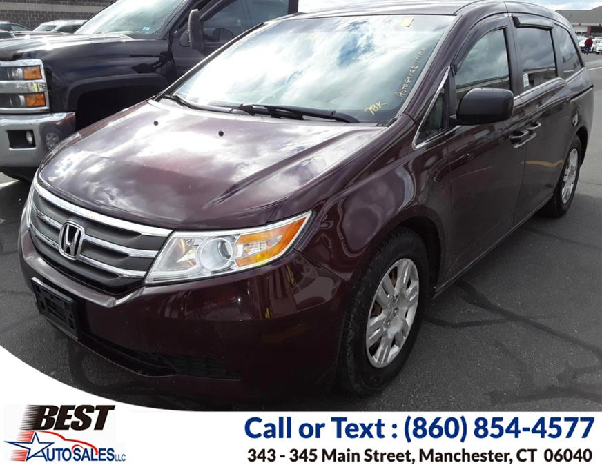 Used 2013 Honda Odyssey in Manchester, Connecticut | Best Auto Sales LLC. Manchester, Connecticut