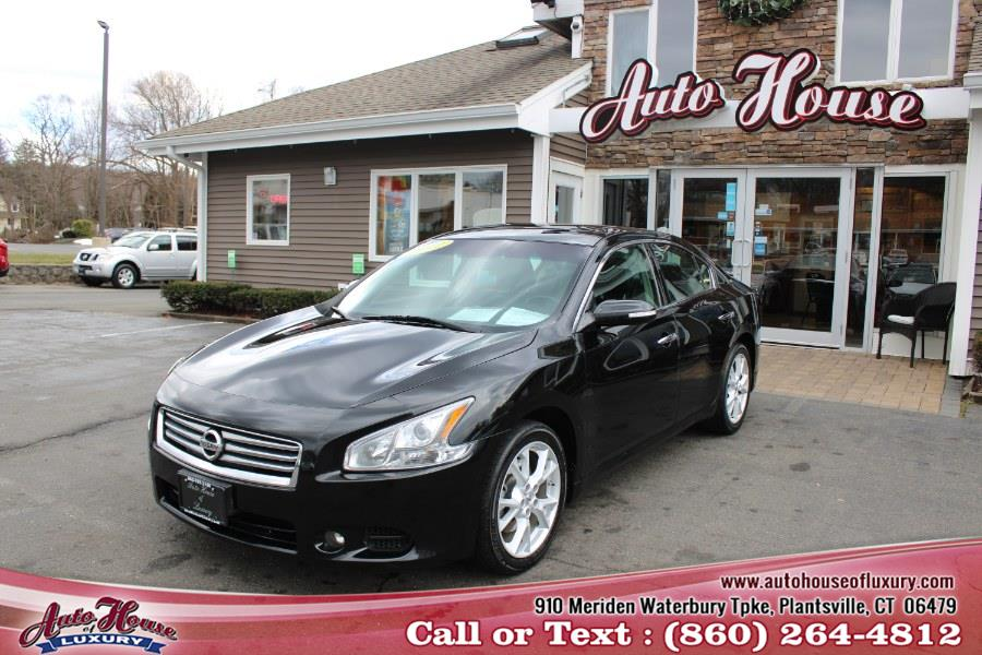 Used Nissan Maxima 4dr Sdn V6 CVT 3.5 SV 2012 | Auto House of Luxury. Plantsville, Connecticut