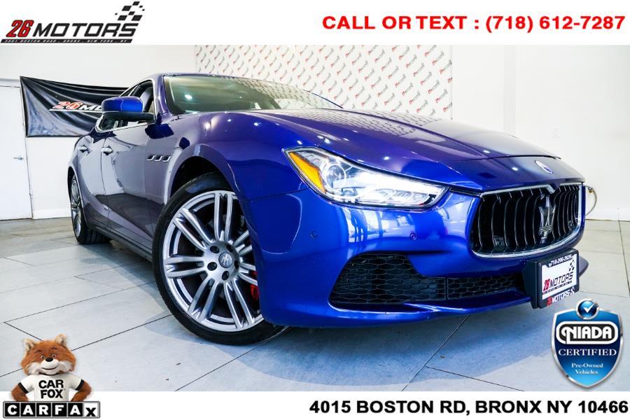 Used 2017 Maserati Ghibli in Woodside, New York | 52Motors Corp. Woodside, New York