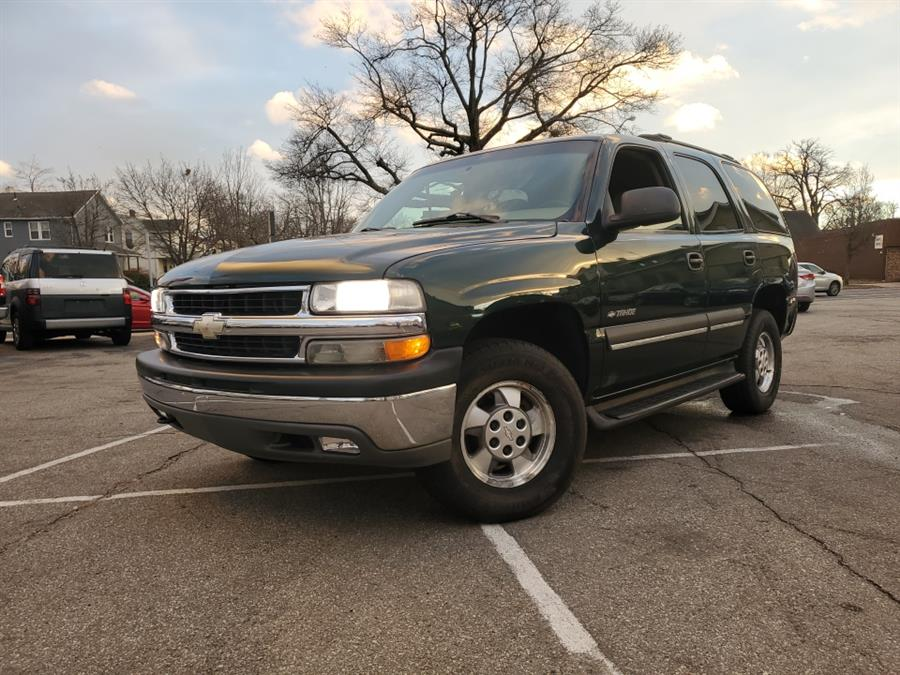 2002 Chevrolet Tahoe 4dr 1500 4WD LS, available for sale in Springfield, MA